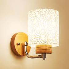 Modern Wood Wall Lamp