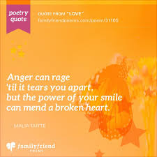 Teen poems of love