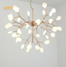 chandeliers chandelier for restaurant the beanstalk led retro lamps art decoration lights industrial glass loft minimalist