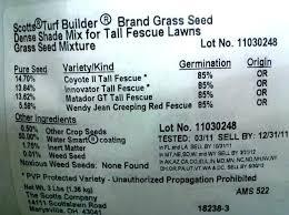 Seed Grass Dealers Seeds Lawn Test Plots Premier Farm Home
