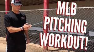 mlb pitching workout baseball workouts for pitchers try this