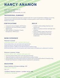 Recommended Resume Format Free Resume Example And Writing Download