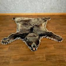 bear rug for glacier bear full size rug for the taxidermy polar bear
