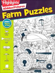 Play hidden object games, unlimited free games online with no download. Hidden Pictures Farm Puzzles Highlights For Children 9781620917718