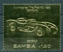 450773 Sambia Auto Goldmarke Ferrari Ebay