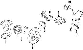 parts com® gmc pad kit frt disc brk partnumber 23214903 2011 gmc terrain sle v6 3 0 liter flex brake components