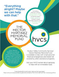 Memorial Fundraiser Flyer Hvcs Dedicates Employee Managed Fundraisers In Memory Of Hector
