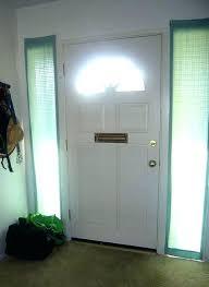 Back Door Window Curtain Small Door Window Curtain Patio Treatments