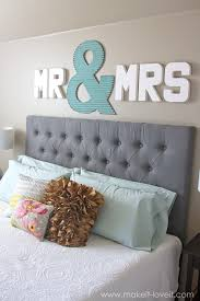 Love Wall Decor Bedroom Mr Mrs Wall Displayfun Master Bedroom Decor Make It And