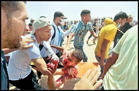 Image result for روز قدس در کرانه باختری رنگ خون گرفت صهیونیستها صدها فلسطینی را به خاک و خون کشیدند