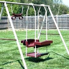 home depot swing set ing kit wooden sets under metal hardware anchor playground slides assembly accessories