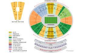Punctual Rose Bowl Seating Chart Seat Numbers Rose Bowl