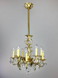 antique gold chandelier antique gold rococo crystal chandelier ch1008 simple