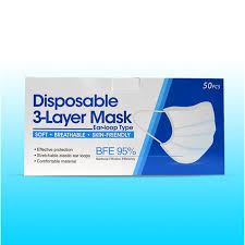 Disposable <b>3 Layer</b> Mask BFE 95% (<b>Earloop</b>) | Walmart Canada
