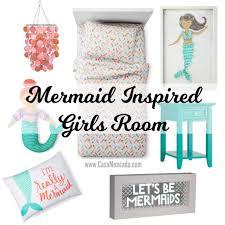 Mermaid Bedroom Decor Casa Moncada Mermaid Inspired Girls Room Casa Moncada