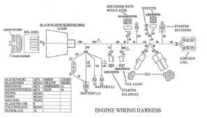 engine wiring harness for yerf dog cuvs 5138 bmi karts and wiring diagram for the engine wiring harness to the yerf dog cuv