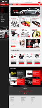 auto parts website template auto parts psd template 50951