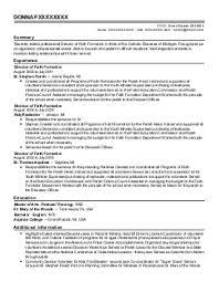 Funeral Director Resume Sales Director Lewesmr. 7 ...