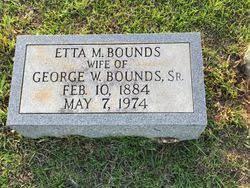 Etta Mack Hannah Bounds (1884-1974) - Find A Grave Memorial