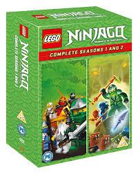 LEGO Ninjago - Masters of Spinjitzu: Complete Seasons 1 and 2 | DVD Box Set  | Free shipping over £20