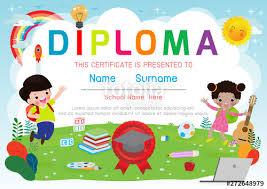 free preschool certificates certificates kindergarten and elementary preschool kids