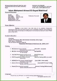 Pharmacist Resume Example 39 Creative Concepts You Will