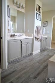 Contemporary Wood Tile Flooring In Bathroom Carpet A Seriously Who Came Up To Concept Design