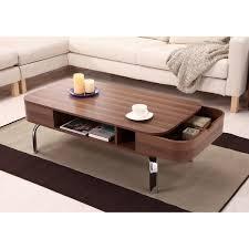 furniture of america berkley mid century modern walnut coffee table unusual coffee tables