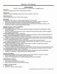 Sample Cardiac Nurse Resume Icu Nurse Job Description Resume New Resume Sample Neuro Icu