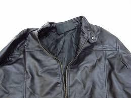 emporio collezione men s leather jacket