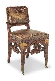 vanderbilt furniture. c1881 dining chair herter bros nyc additional strettcher compared to wh vanderbilt furniture