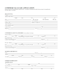 Residential Lease Application Template