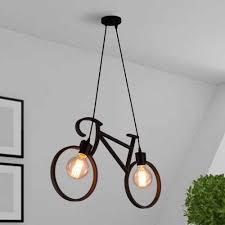 everflower modern pendant lighting chandelier for living room kitchen bar dining room lighting black
