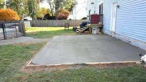 concrete slab patio. Concrete Slab Patio Designs. Plain Designs Backyard Ideas Floor Covering Throughout E
