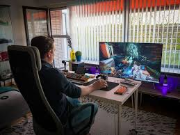 Gaming Desks Gaming Desks Pinterest Room Game Room And Gaming Magnificent Living Room Pc