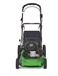 a propane powered lawnmower cuts cleaner