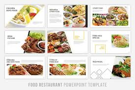 Food Presentation Template Food Presentation Powerpoint