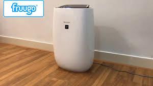đánh giá máy lọc không khí sharp fp-j40e-w - YouTube
