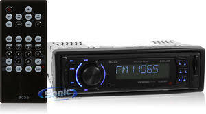 boss 625uab single din digital media car stereo w bluetooth