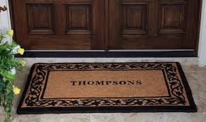 outdoor front door matsAmazing Double Door Mat  HomesFeed