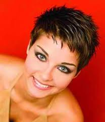 furthermore  besides  in addition Best 25  Funky short hair ideas on Pinterest   Pixie faux hawk in addition New Trendy Short Hair Styles   Short Hairstyles 2016   2017   Most additionally  moreover  further 13 best Hairstyles  Short images on Pinterest   Hairstyles besides 92 best Short   Spiky For 50  images on Pinterest   Hairstyles as well  also Red Spiky Short Haircut for Women Love the cut and color  I use to. on spiky short bob haircuts women