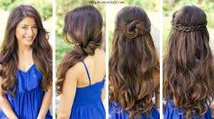 Easy Hair Style For Girl 42 easy hairstyles for girls simple step by step pictures 2555 by wearticles.com
