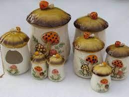 28 Mushroom Themed Kitchen Ideas Kitchen Themes Stuffed Mushrooms Vintage Mushroom
