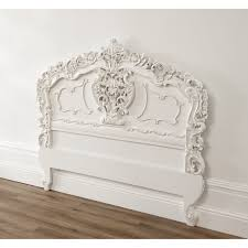 Shabby Chic Headboard White Rococo Antique French Headboard A Fantastic Addition To Any Home