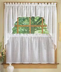 stylish kitchen window curtain ideas kitchen window curtain