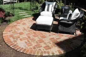 brick fire pit patio