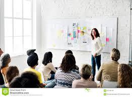 Design Team Meeting Presentation Creative Concept Stock Photo