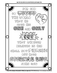 John 316 Coloring Page And Word Puzzles By Annie Lima Tpt