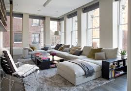 sumptuous sectional couches for in family room contemporary with sectional area rug next to loft