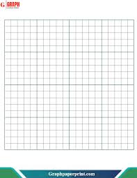 One Centimeter Graph Paper Graph Paper Printable